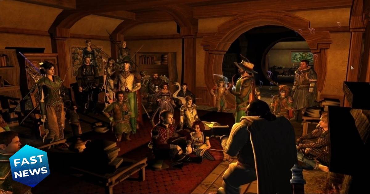 The Lord of The Rings Online, Ian Holm, Bilbo Baggins, Il Signore degli Anelli, Lo Hobbit