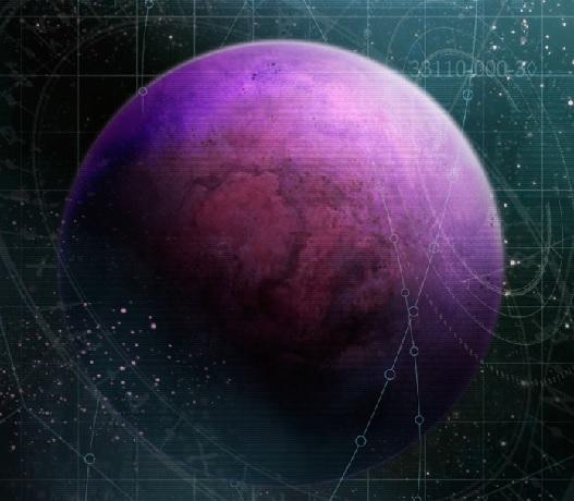Midgardia dall'orbita
