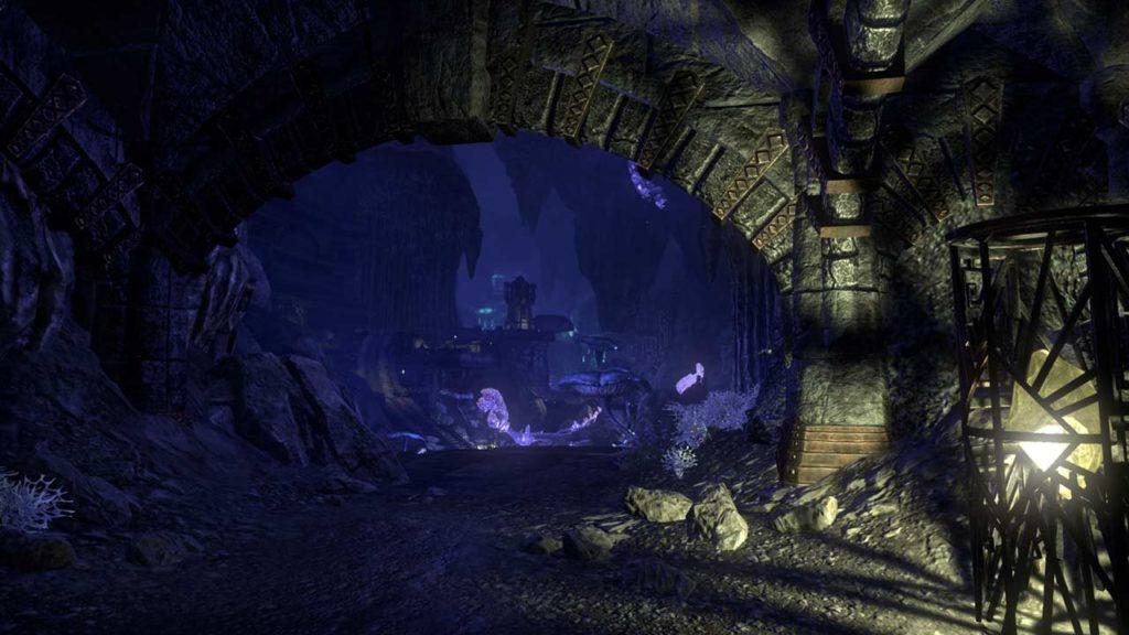 Rovine Dwemer in ESO Greymoor