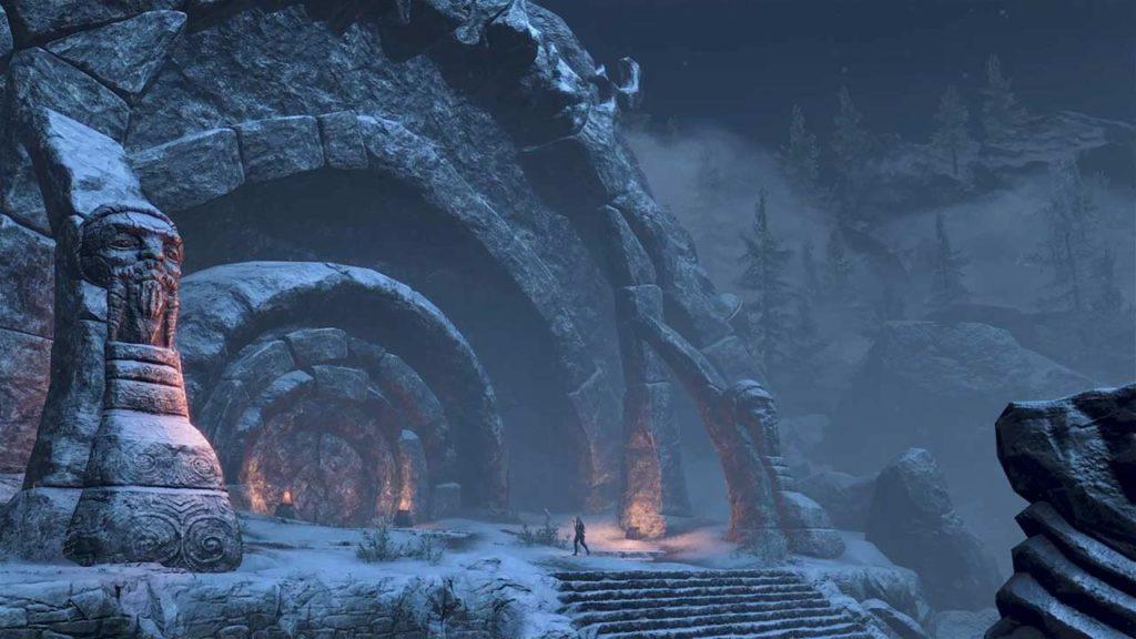 Delle splendide rovine Nord in ESO: Greymoor
