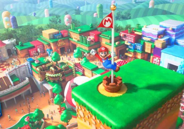 Nintendo, Super Nintendo World, Super Mario