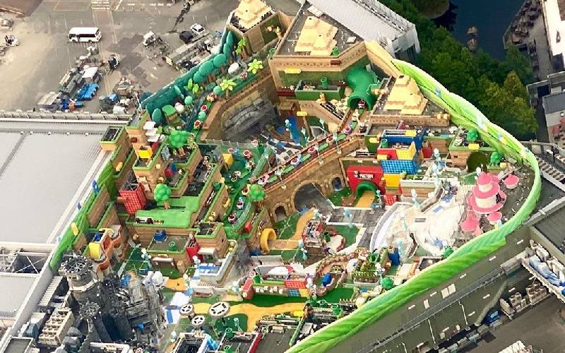 Nintendo, Super Nintendo World, Super Mario