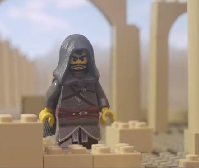 trailer fan made assassin's creed in versione LEGO