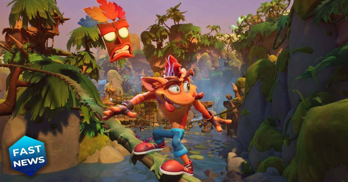 Crash Bandicoot 4: It's about time, Crash Bandicoot, Activision
