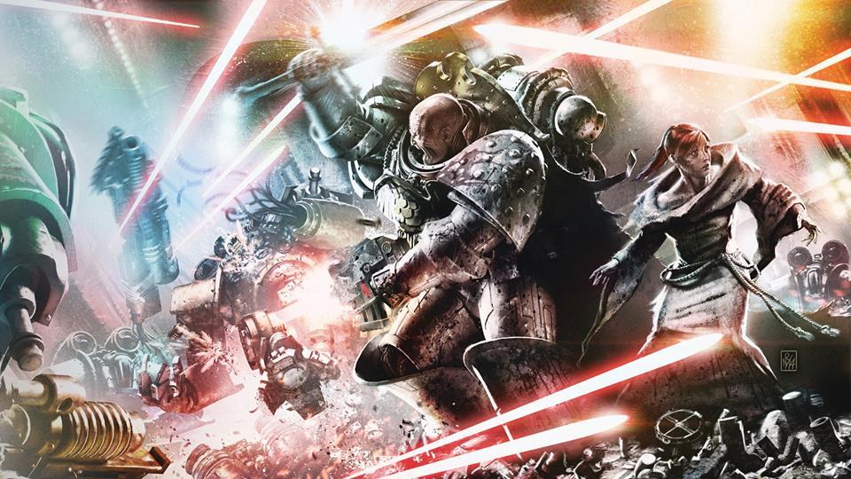 Garro e Tallery di Warhammer 40.000