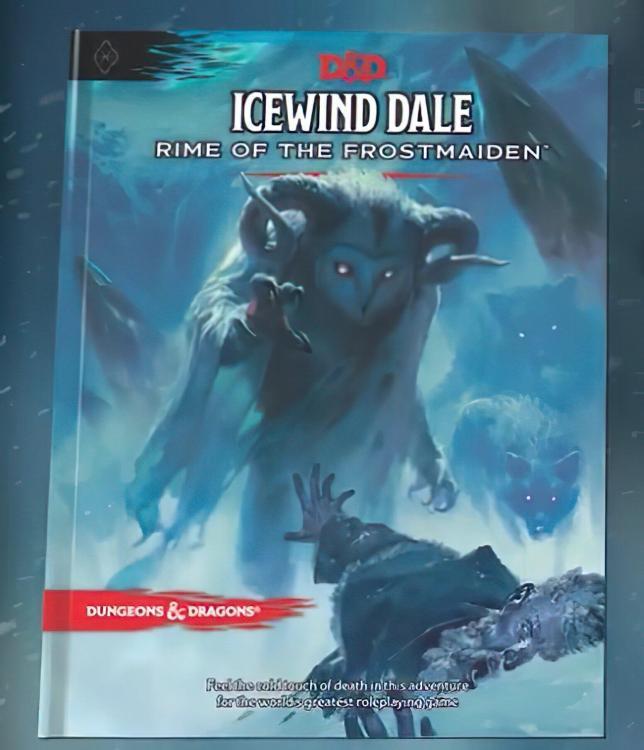 La copertina della nuova avventura di D&D?