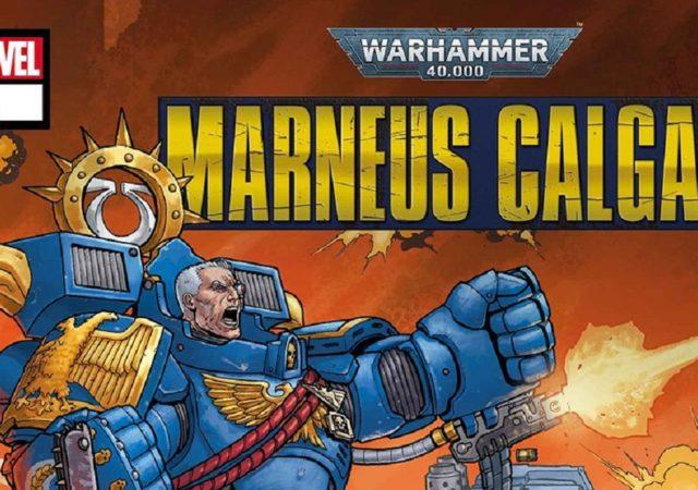 Copertina per articolo sui fumetti di Marneus Calgar
