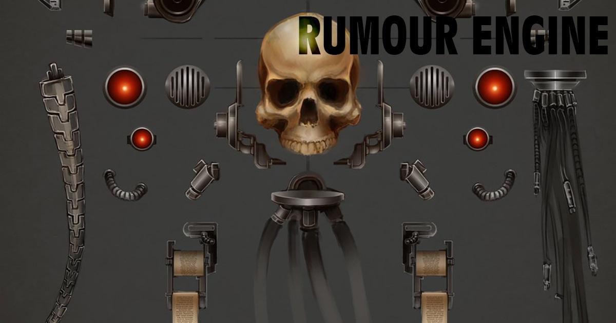 Copertina per Rumour Engine Servo-teschio