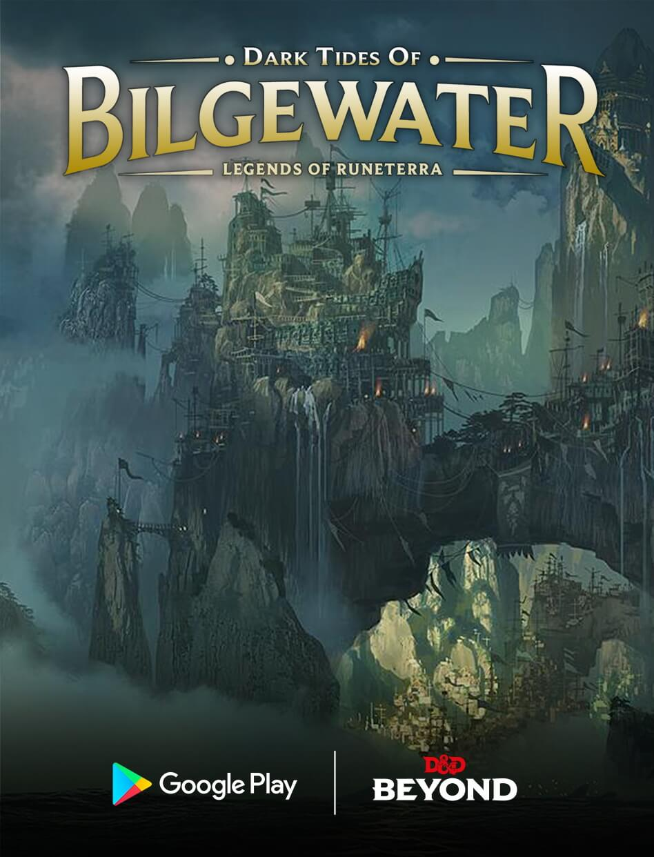 La copertina di Dark Tides of Bilgewater