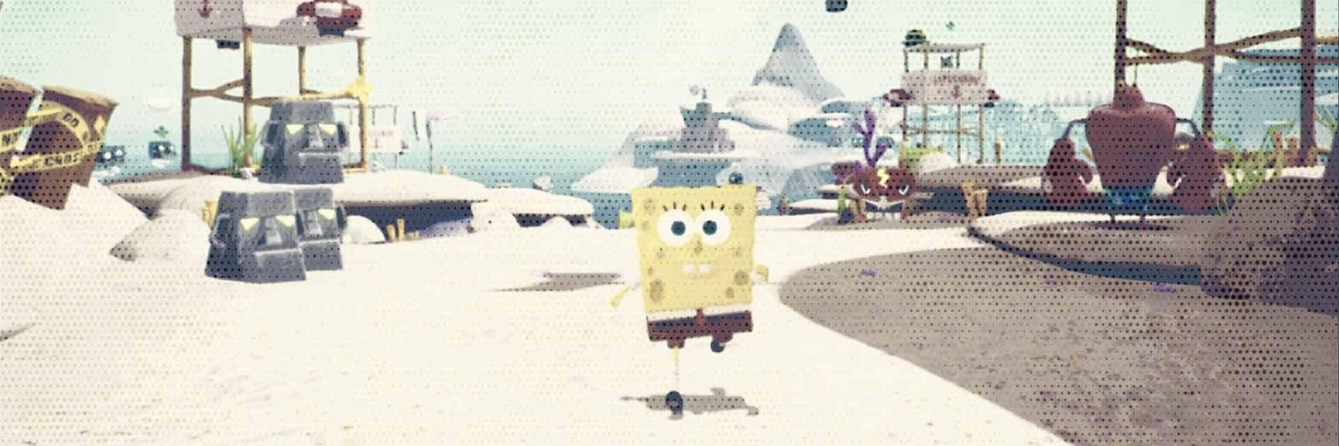 spongebob squarepants battle for bikini bottom rehydrated scheda gioco