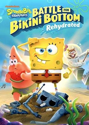 locandina del gioco Spongebob Squarepants Battle For Bikini Bottom Rehydrated