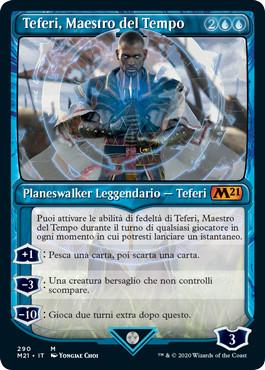Teferi, Maestro del Tempo in formato Vetrina