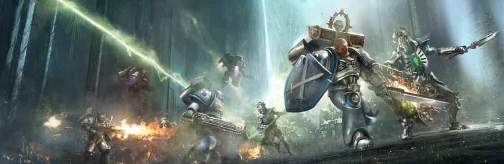 Cavalieri Astrali contro Necron sul Mondo Motore