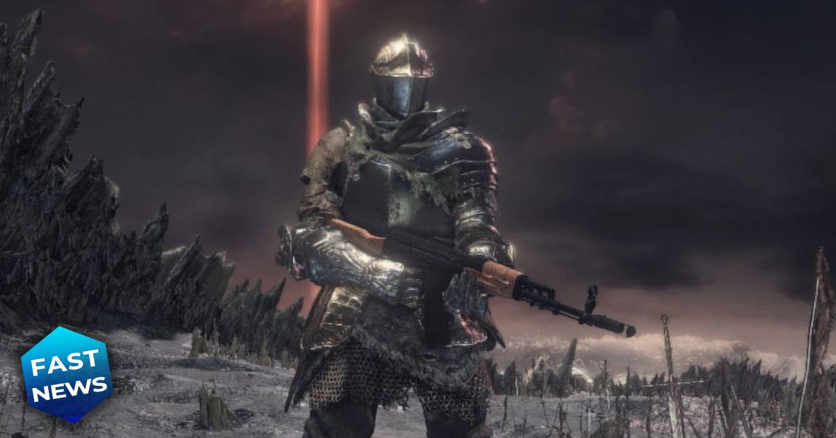 Dark Souls 3, Dark Souls 3 Modern Firearms, Dark Souls 3 Modern Firearms mod