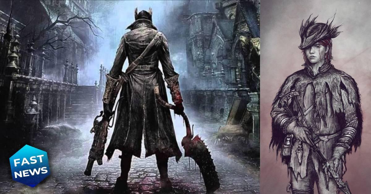 The Last of Us Parte II, The Last of Us, Ellie, Bloodborne, Bloodborne cacciatore