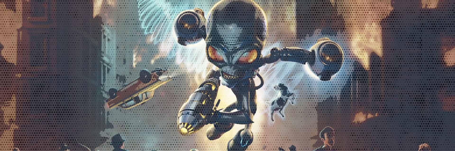destroy all humans scheda gioco