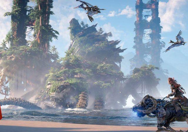 Svelate nuove location in Horizon Forbidden West
