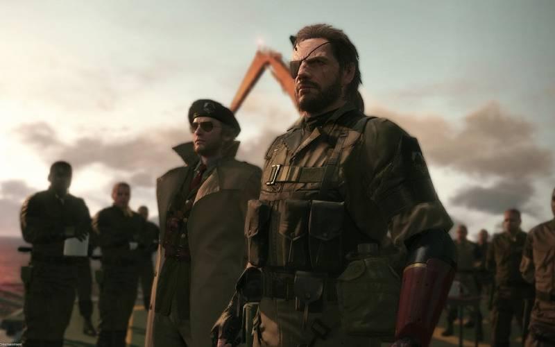 Metal gear solid V: The Phantom Pain, Metal Gear Solid, The Phantom Pain, Snake, Venom Snake, Kaz