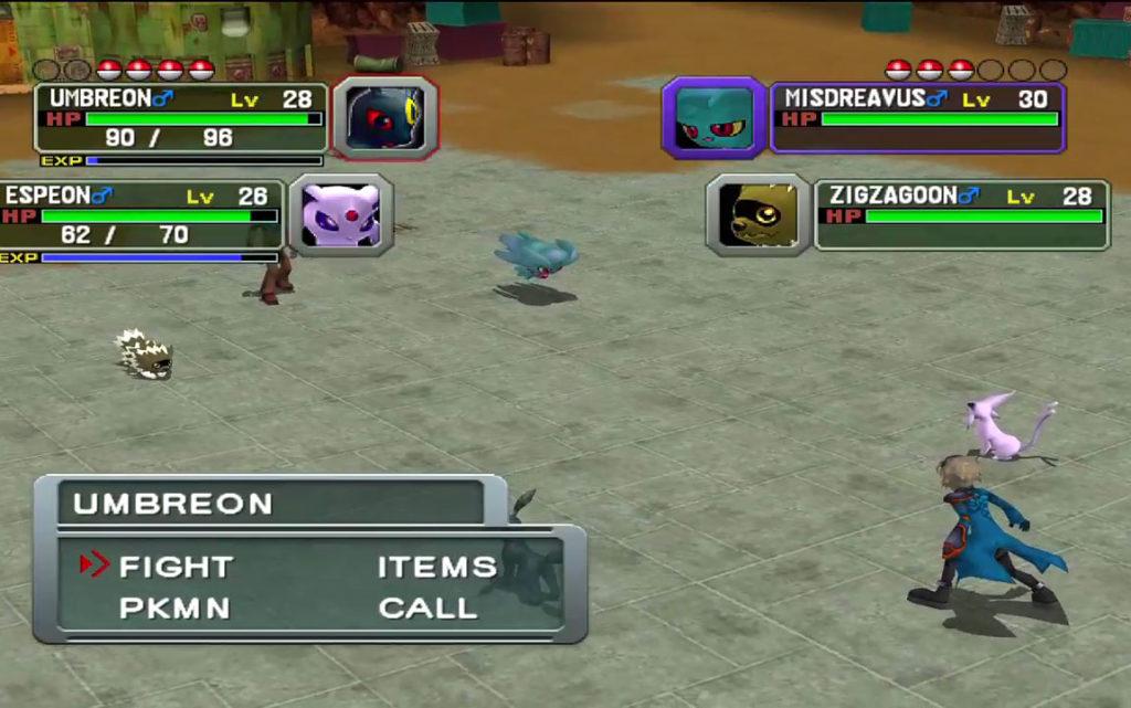 Combattimento in doppio di Pokémon Colosseum