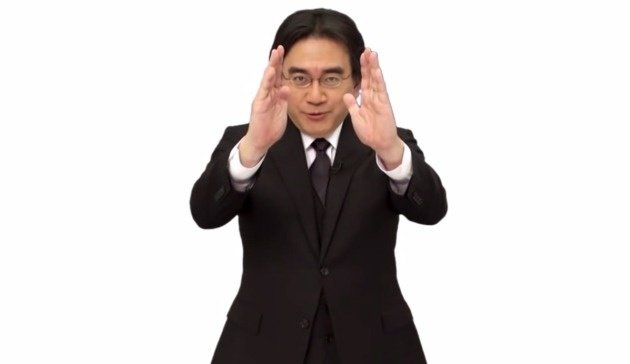 Satoru Iwata durante un Nintendo Direct