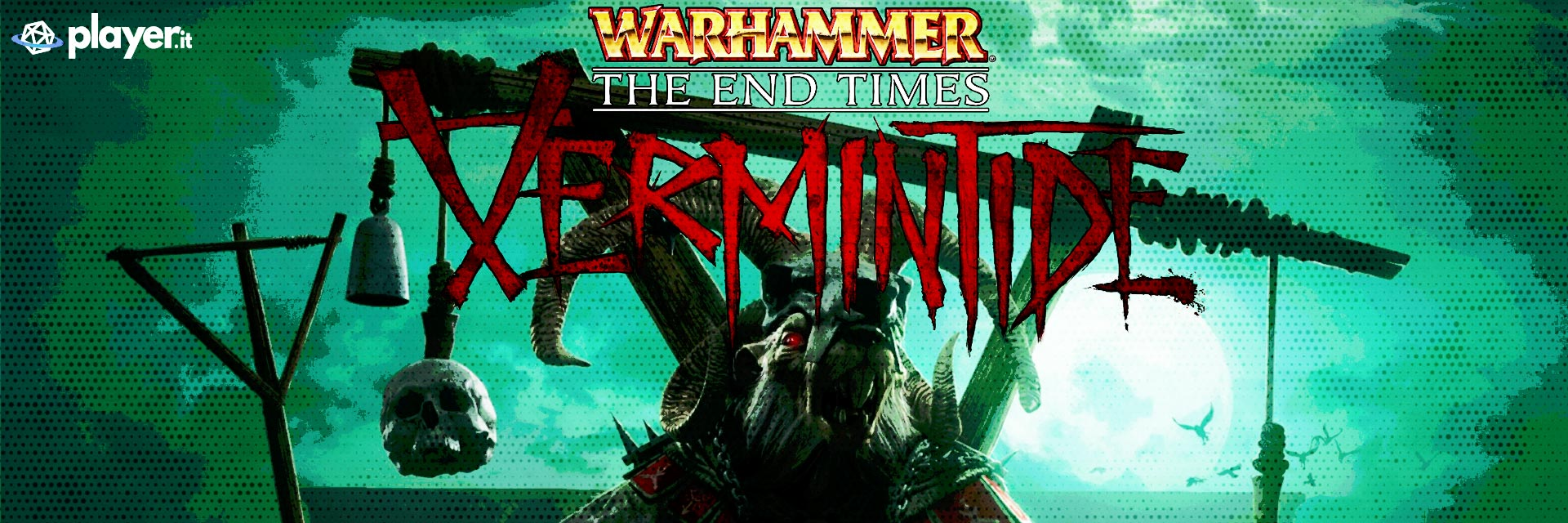 immagine in evidenza del gioco Warhammer: The End Times - Vermintide