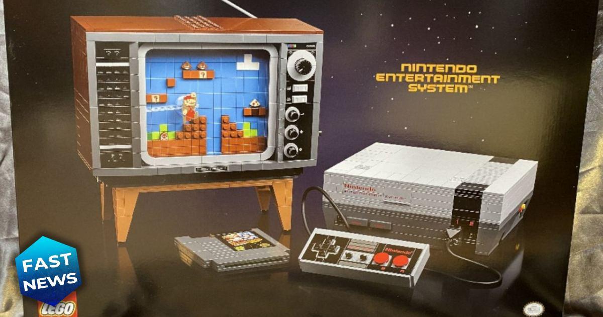 set lego nintendo, nintendo, lego, NES, set NES lego, set lego NES, Super Mario, Lego, Nintendo