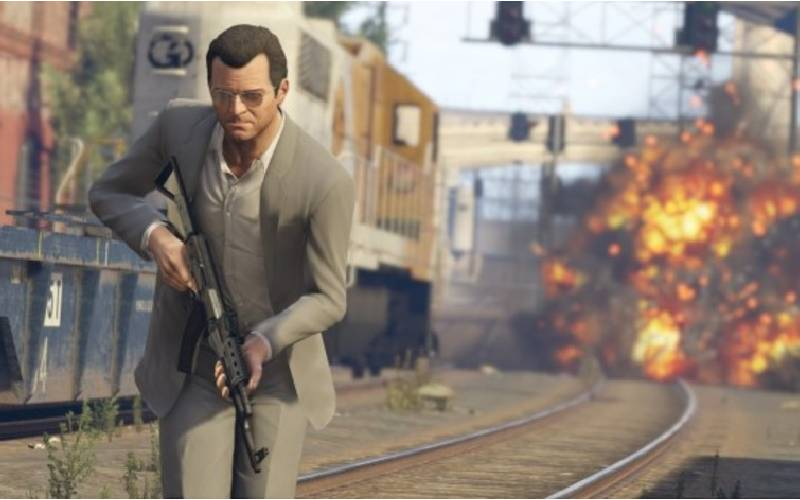 GTA V, Grand Theft Auto V, Rockstar Games, Michael GTA V