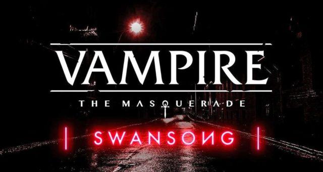 Copertina per Vampire The Masquerade Swansong