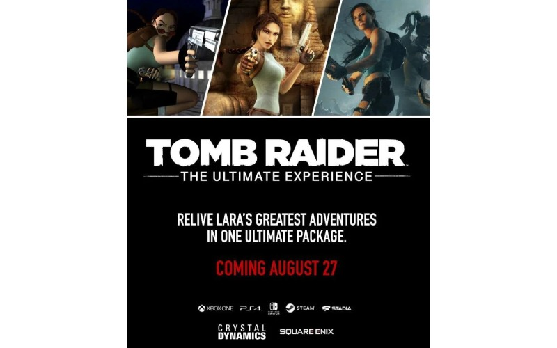 Tomb Rider, Tomb Rider The Definite Experience, Tomb Rider rumor, Lara Croft, Tomb Rider collection, crystal dynamics, Square Enix