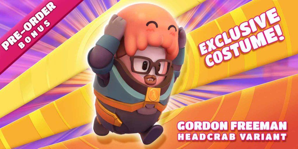 come ottenere la skin di gordon freeman in fall guys