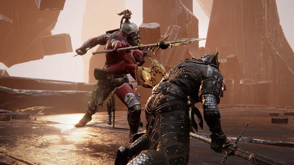 Mortal Shell Battaglia con il boss