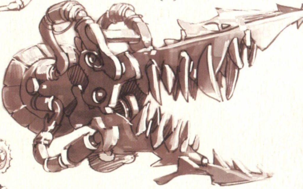 Artwork di un oggetto collegato ai K'nib