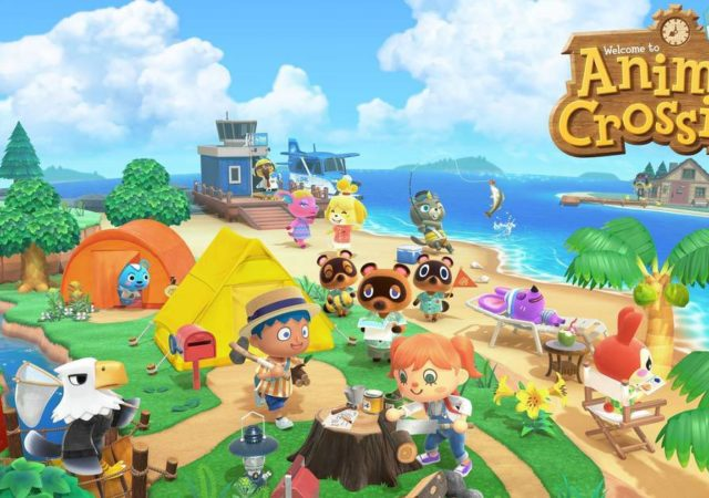 record di vendite per animal crossing e nintendo switch