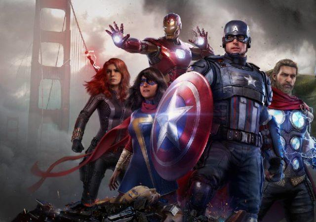 marvel's avengers, marvel's avengers crystal dynamics, marvel's avengers anteprima, marvel's avengers preview, marvel's avengers square enix, Captain America, Iron Man, Vedova Nera
