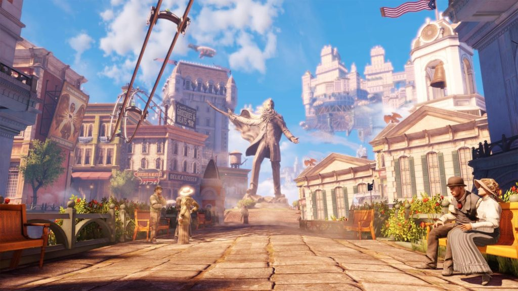 La città di Columbia - BioShock Infinite
