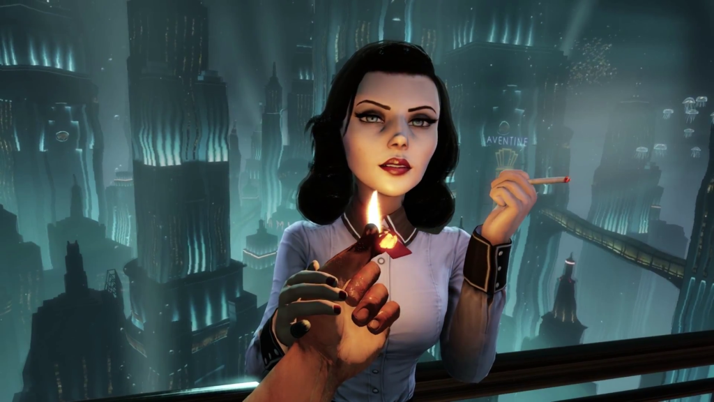 Elizabeth in Burial at Sea - BioShock Infinite