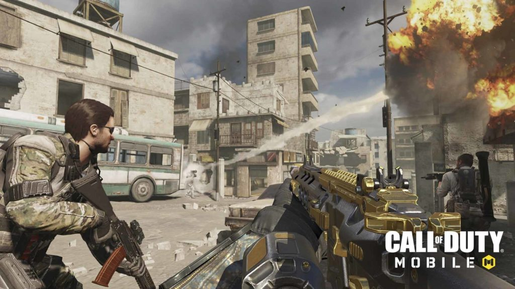 Schermata di Call of Duty Mobile