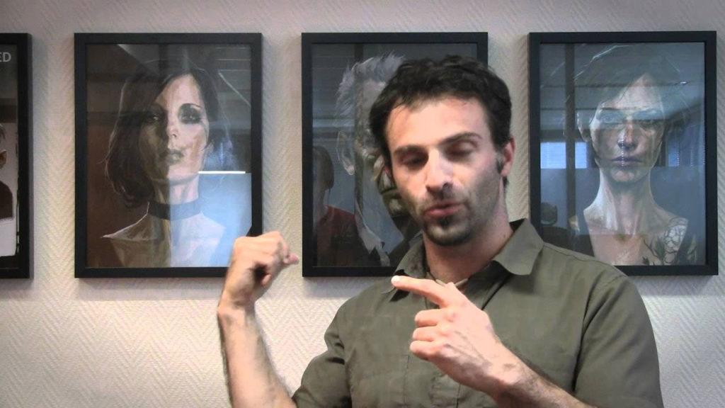Raphael Colantonio durante un'intervista riguardo Dishonored