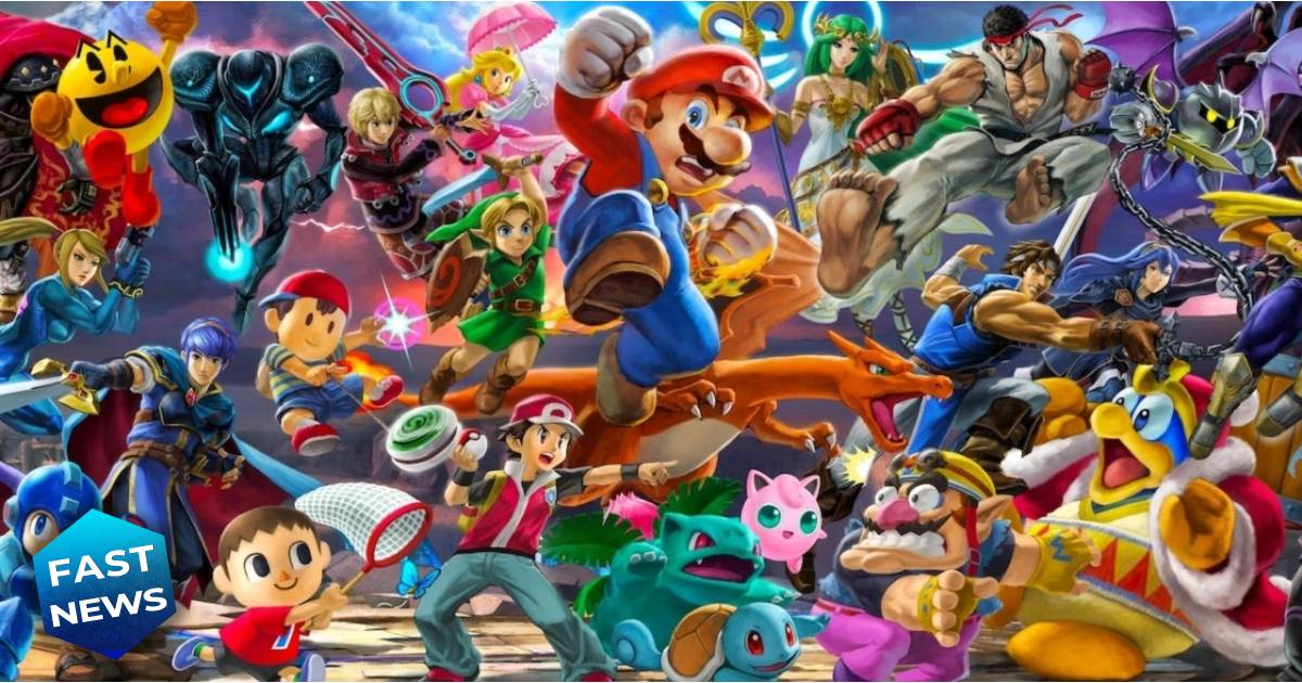 Super Smash Bros. Ultimate, Super Smash Bros., Nintendo, Super Smash Bros. Ultimate nuovo livello