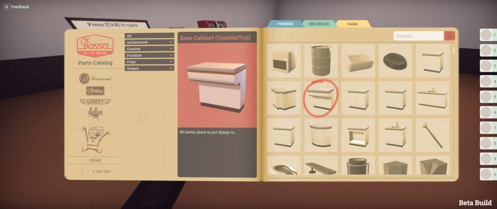 Editor dei livelli di Surgeon Simulator 2