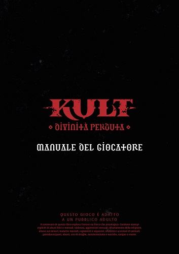Manuale del Giocatore, accessorio per Kult: Divinità Perduta
