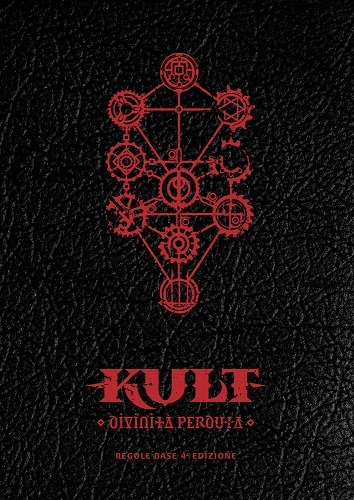 Copertina manuale base edizione limitata di Kult: Divinità Perduta