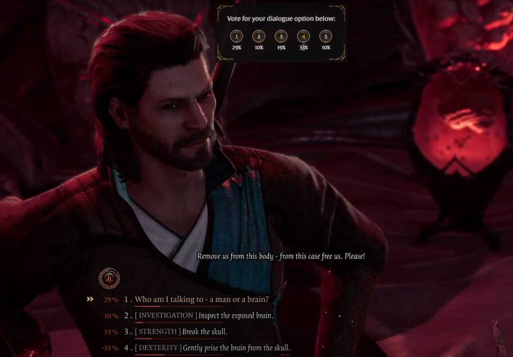 Scelte Twitch per Baldur's Gate 3