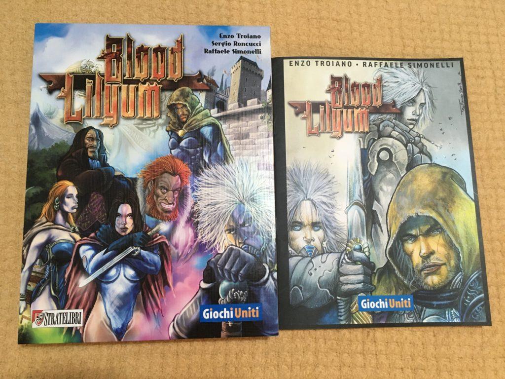 Blood Lilyum, box art e graphic novel