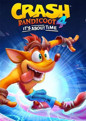 locandina del gioco Crash Bandicoot 4: It's About Time