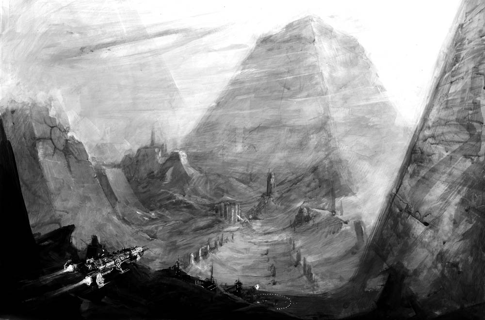 Una necropoli Necron