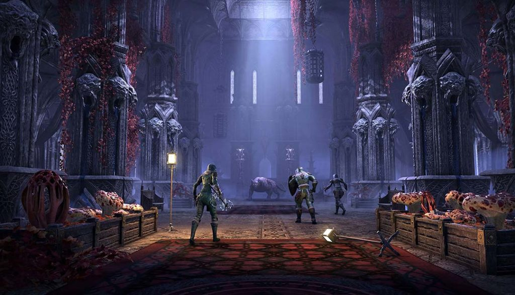 L'ambientazione horror - gotica del DLC ESO Stonethorn