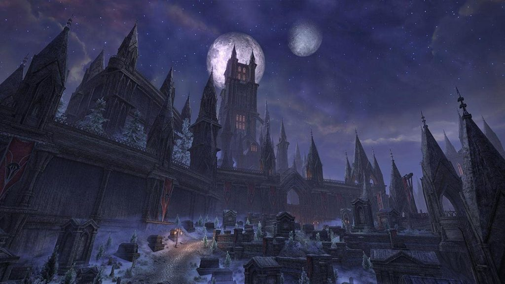 L'aspetto gotico di Castle Thorn
