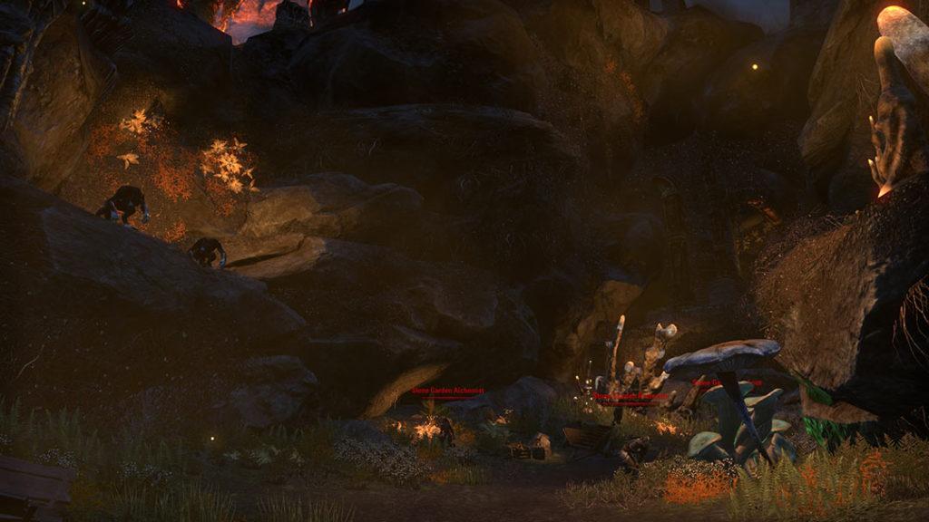 L'inizio del dungeon Stone Garden di ESO Stonethorn