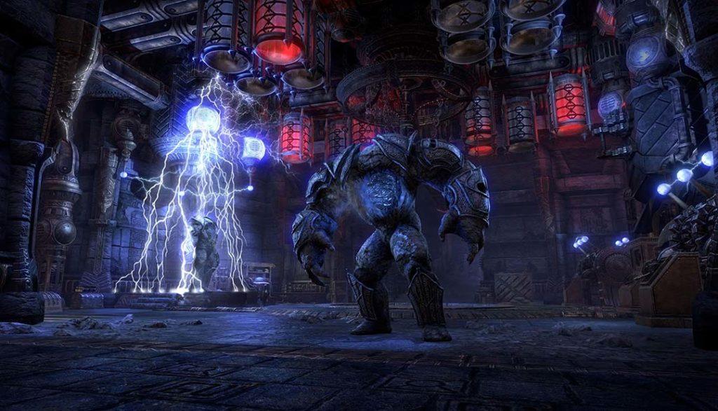 Lo Stone Behemoth del dungeon Stone Garden